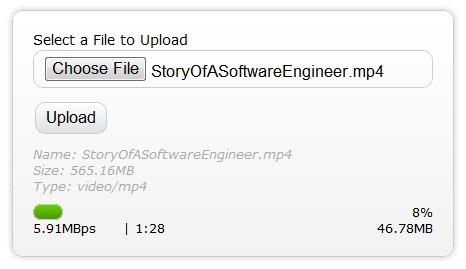 HTML5上传文件