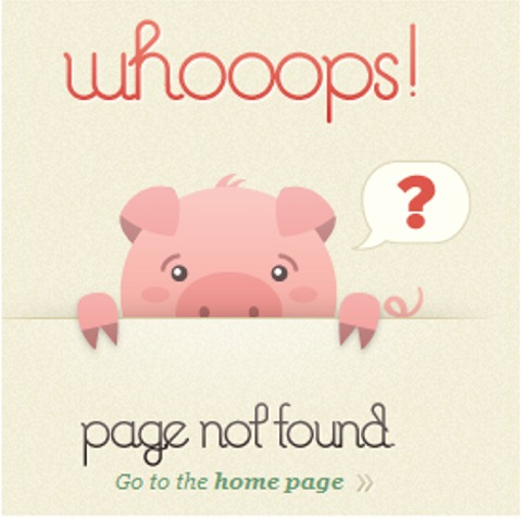 105个创意404错误页面