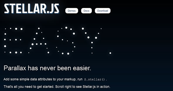 Stellar.js ——帮你更好的处理点阵字幕