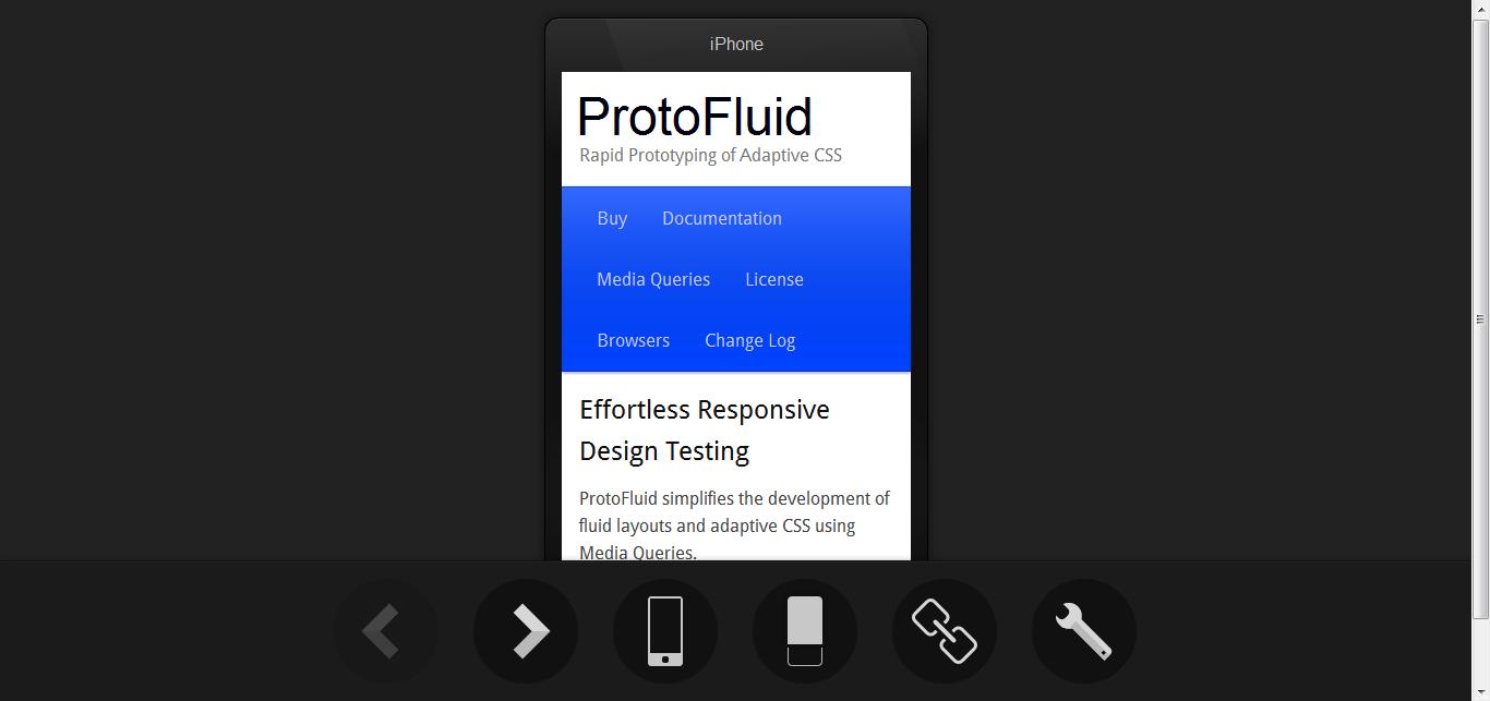 SProtoFluid - 懒人的适应性设计模板