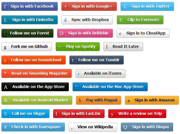 50个炫技的CSS按钮