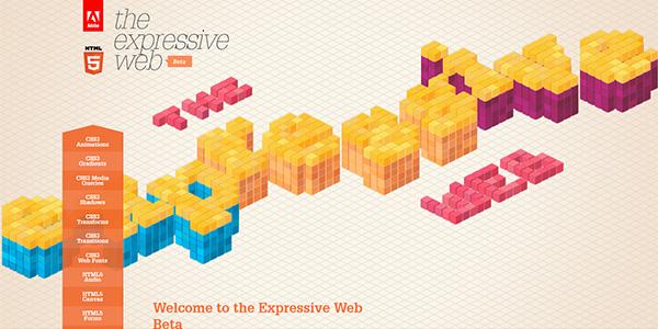 25+个 HTML5与CSS3网站设计典范