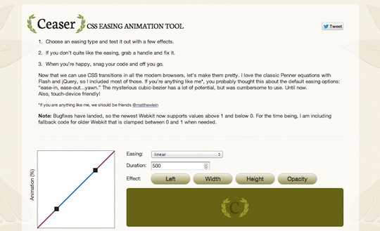 CSS Animation Tool