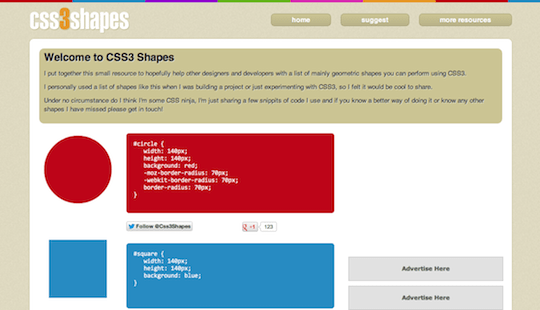 CSS Generator - CSS3 Shapes