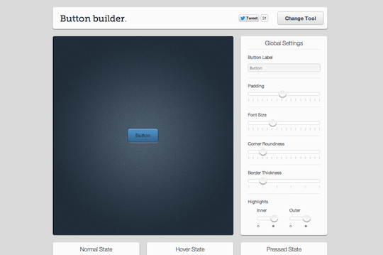 Live Tools  Button Builder
