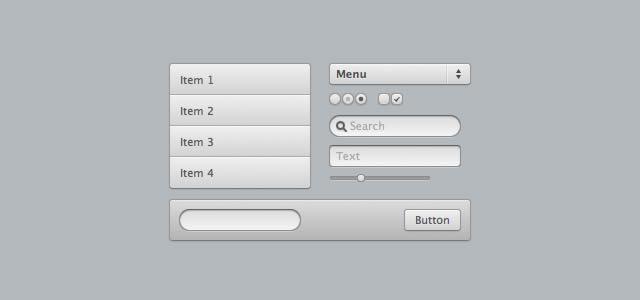 CSS3 UI Kit