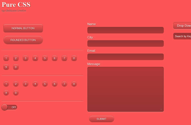 Pure CSS UI Kit