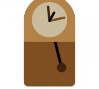 动态复古时钟